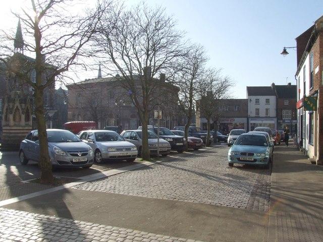 Market Square, Horncastle