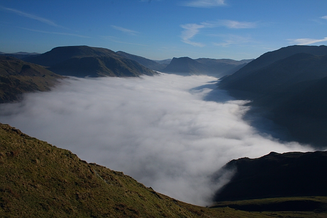 Buttermere seen during a Temperature Inversion (3)