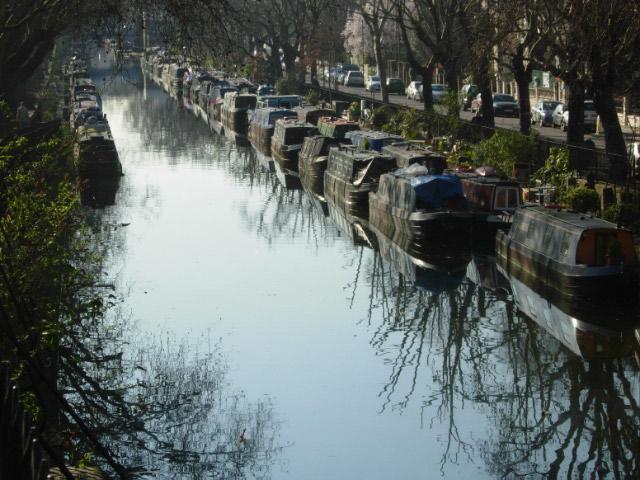 Regent's Canal, Maida Vale