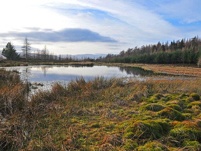 Lochan near Barr Dubh