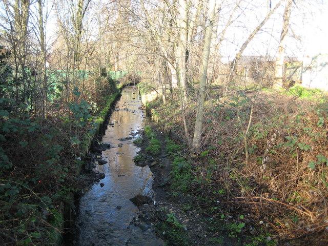 Pyl Brook in North Cheam