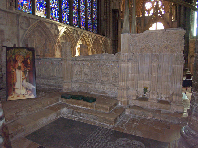 The Shrine of Saint Hugh, Lincoln Cathedral