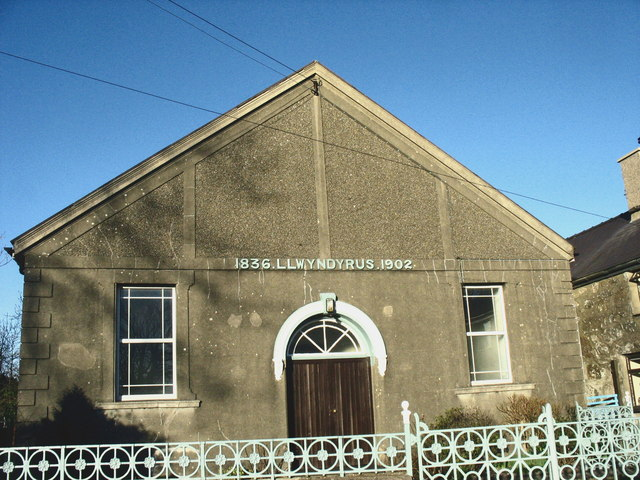 Llwyndyrys Calvinistic Methodist Chapel