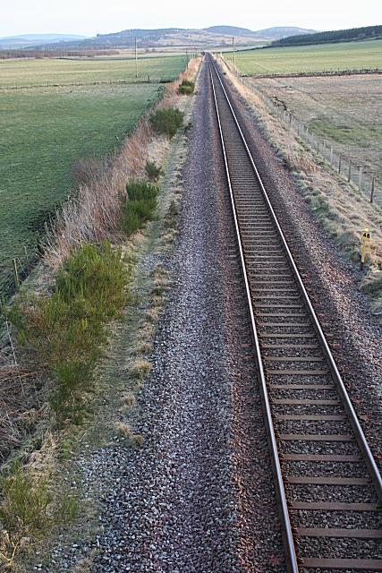 Inverness to Aberdeen Railway Line