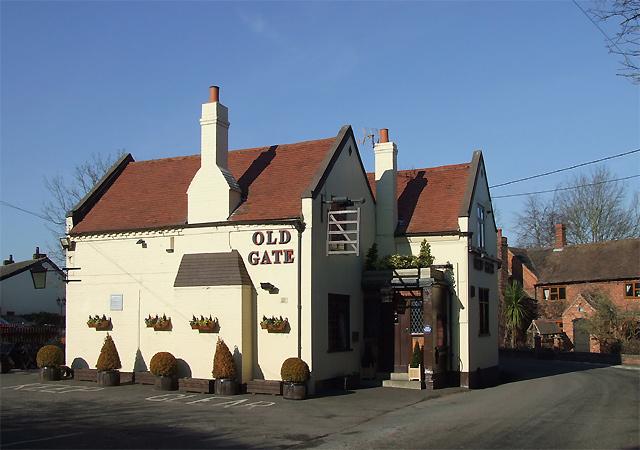 The Old Gate at Heathton, Shropshire