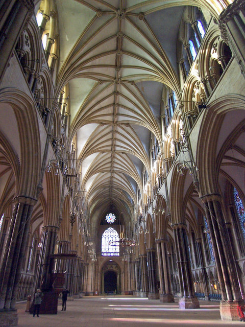 Lincoln Cathedral - the Nave
