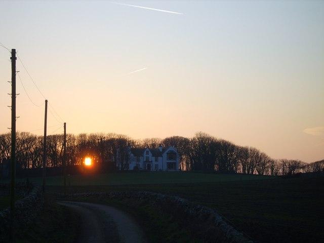 Drumbreddan Sunset