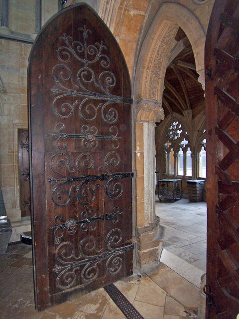 Lincoln Cathedral - Chapter House Door