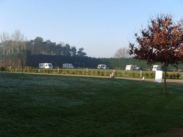 Caravan Site, Fakenham Racecourse