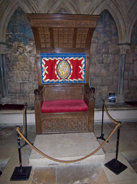 Lincoln Cathedral - Bishops' Throne