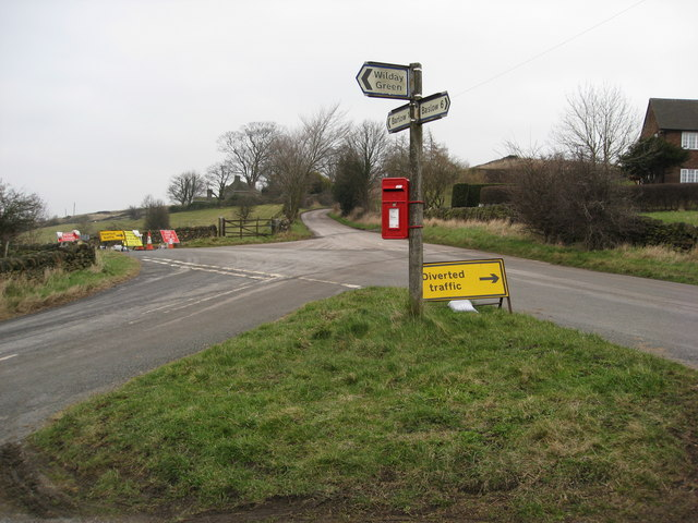 Road Closed near Bolehill