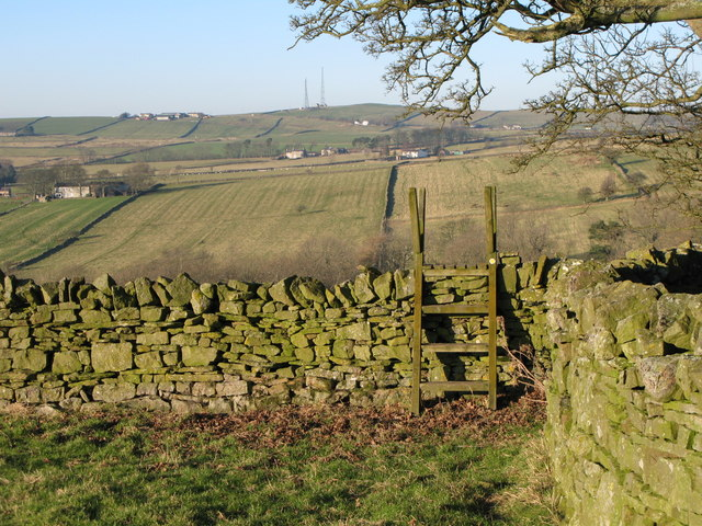Footpath from Stone Stile to Lea Hall