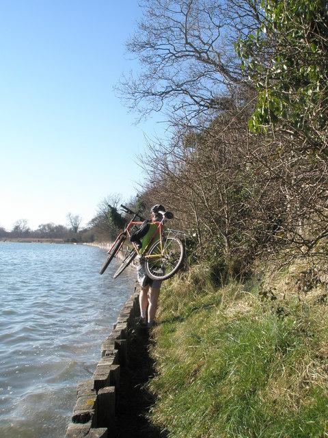 Take up thy bike and walk