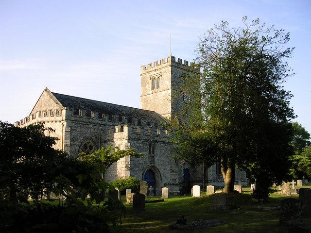 All Saints Church Broad Chalke