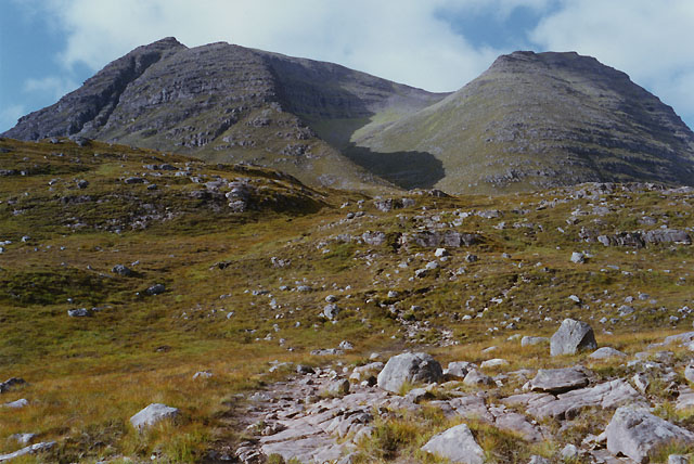Approaching Tom na Gruagaich