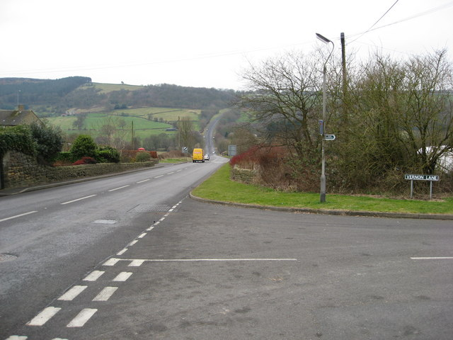 Kelstedge - View towards Slack Hill