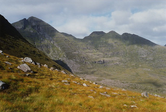 Slopes below Coire nan Laogh