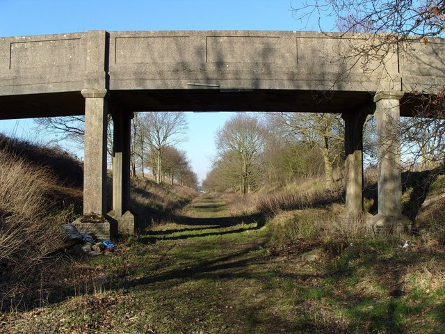 Railway Bridge, GER, North Elmham