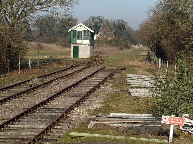 Signalbox, County School station