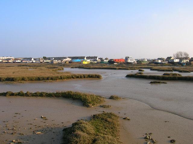 Saltmarsh and Houseboats