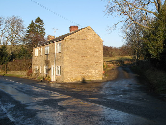 Minor road off the B6295