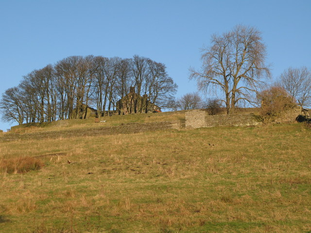 Pastures below Stone Hall