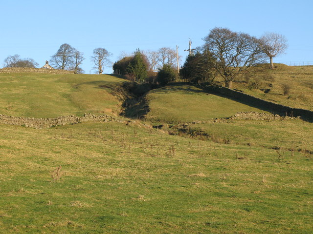 The cleugh of the Sike from Housty