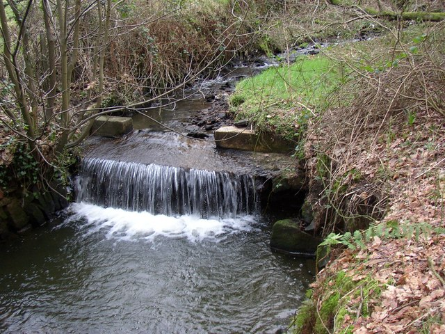 Weir on Hey Clough, Scammonden