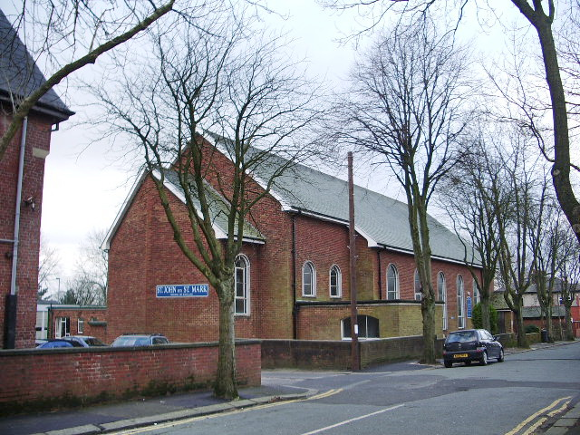 St John with St Mark Church, Sunny Avenue, Bury