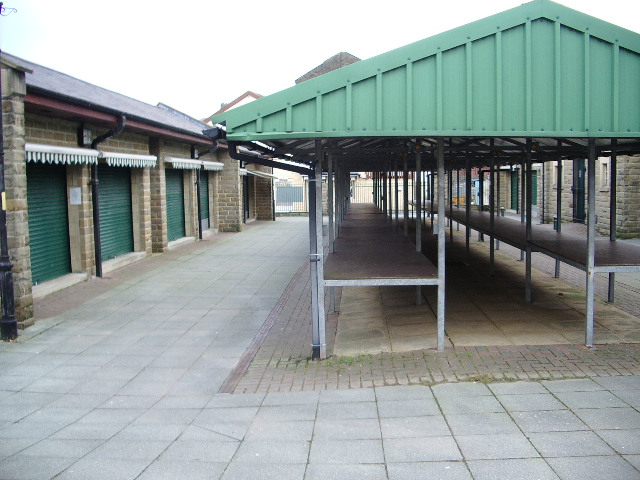 A non market day at Haslingden Market