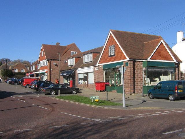 Shops in Tile Farm Road