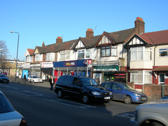 Shops on High Street South, E6