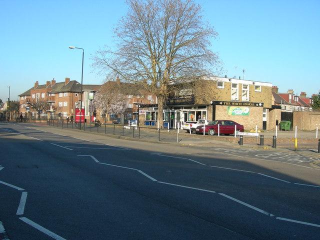 High Street South, East Ham, near White Horse Road
