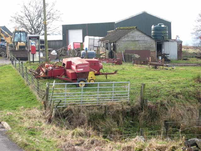 Agricultural bric-a-brac at Bushfield