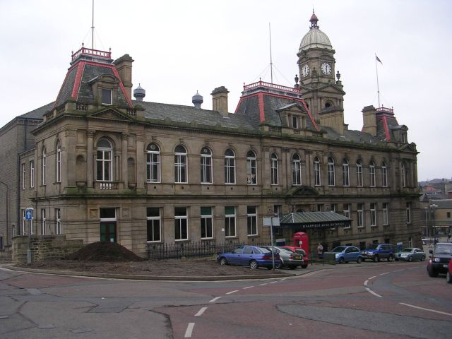 Town Hall - Wakefield Road Entrance
