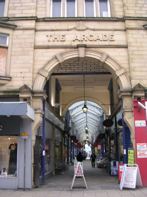 The Arcade - viewed from Corporation Street