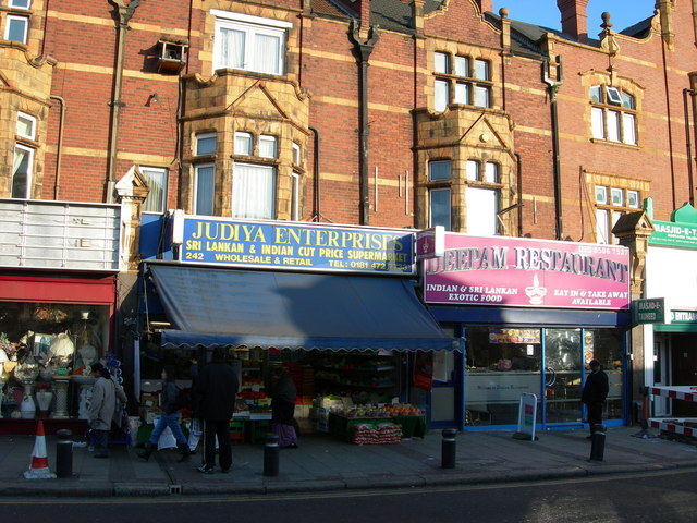 Shops on High Street North, E12