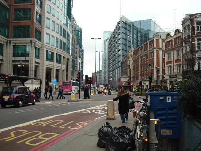 Bishopsgate, London EC2M