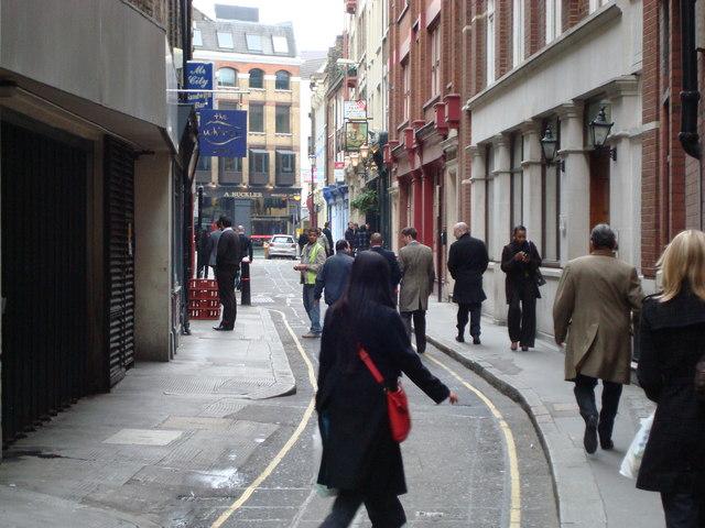 Artillery Lane, London EC2M