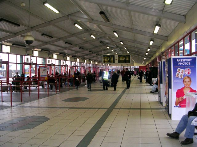 Dewsbury Bus Station Concourse