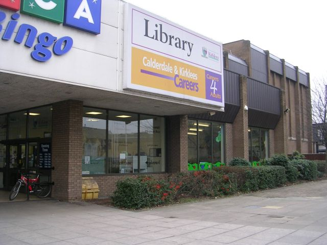 Dewsbury Central Library