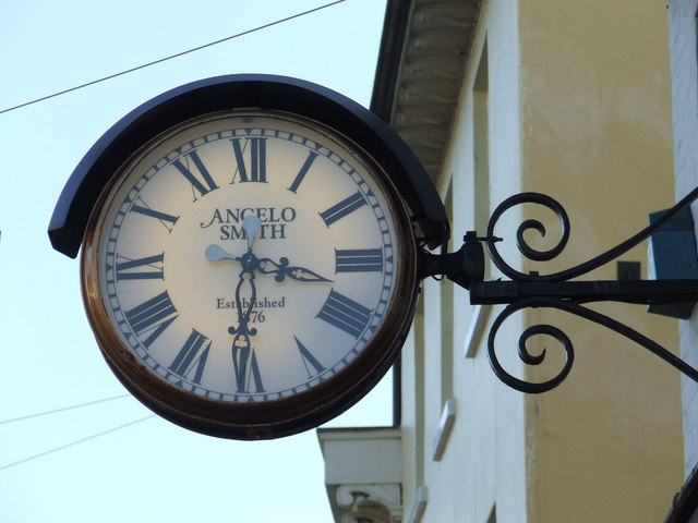 Angelo Smith clock