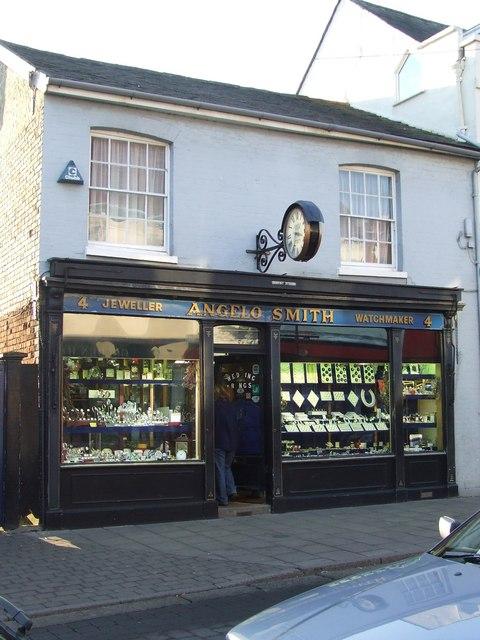 Angelo Smith jewellers shop