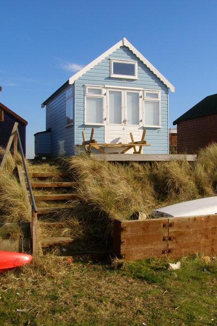 Beach hut, Mudeford Spit