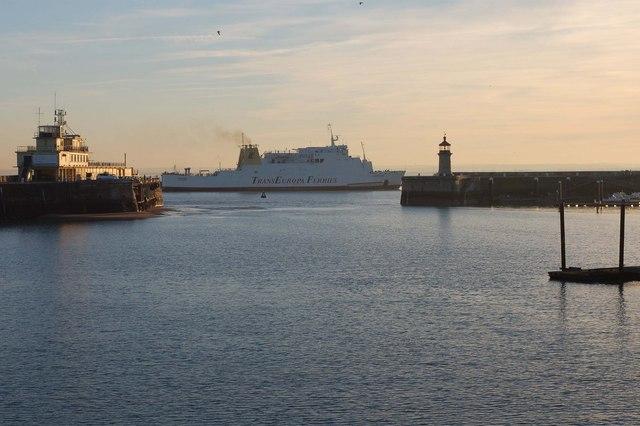 "Trans Europa Ferry ""Gardenia"""