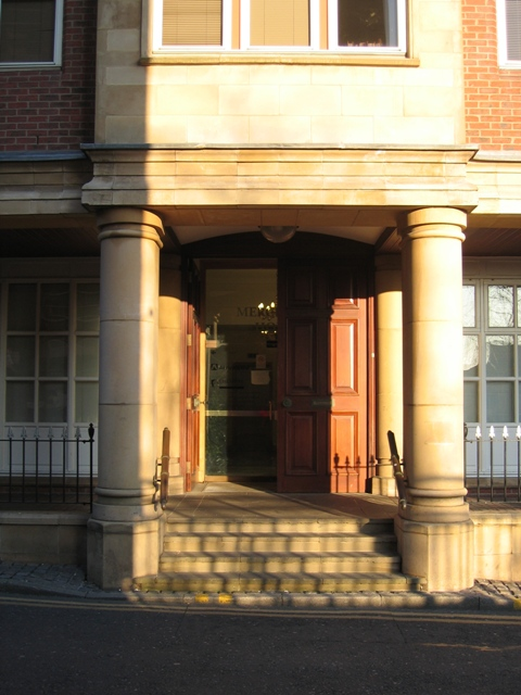 Entrance to Merchant House