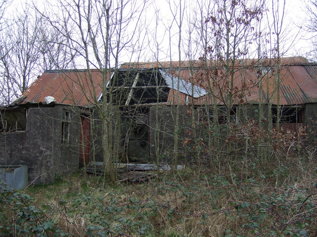 Abandoned farmyard