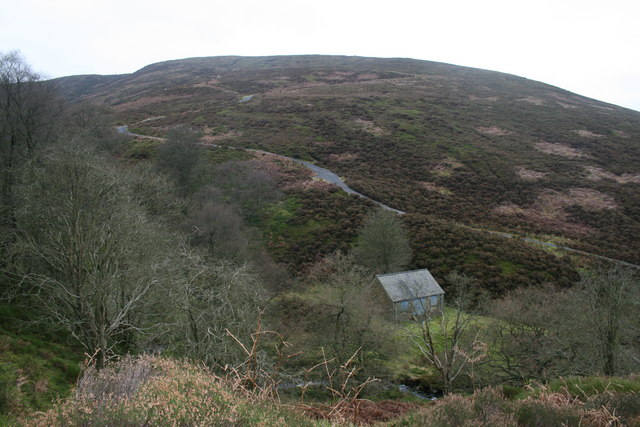 Shooting Hut, Black Clough