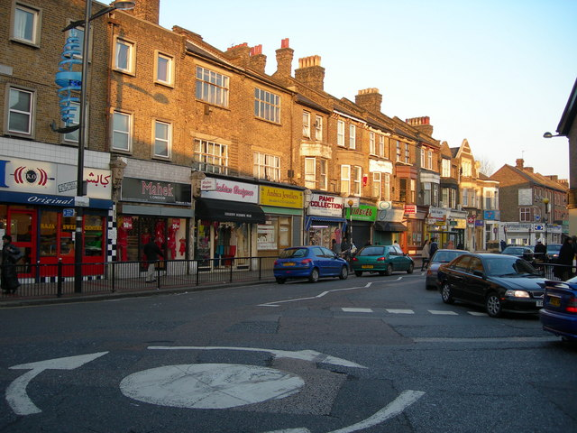 Plashet Grove E6, viewed from Green Street