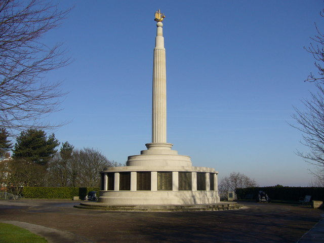 The Royal Naval Patrol Service Memorial in Belle Vue Park